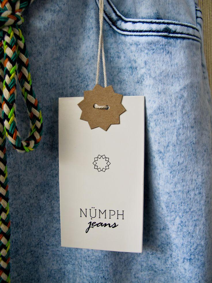 Numph jeans #hangtag