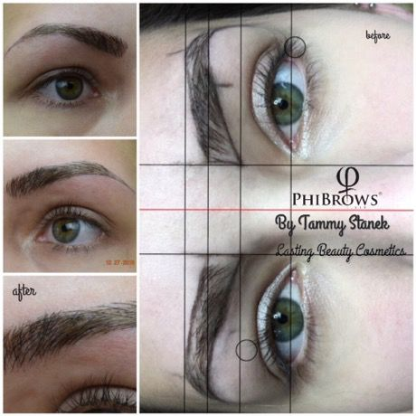 Microblading done by Tammy Stanek