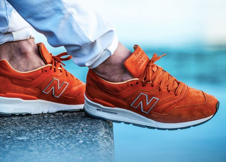 Concepts x New Balance 997TNY 'Luxury Goods' -... – Sweetsoles – Sneakers, kicks and trainers. On feet.