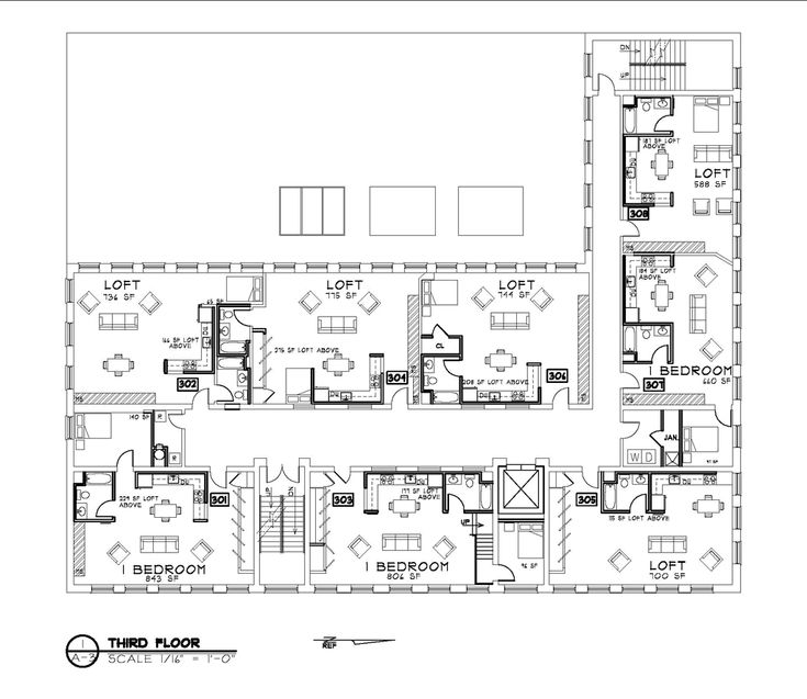 60 best images about id 375 floor plan drawings on for Barn home floor plans with loft
