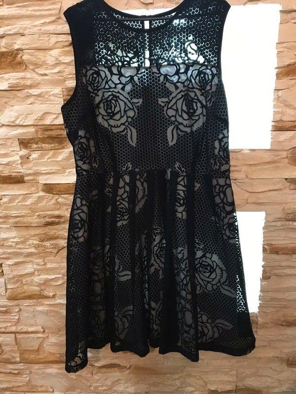 Sliczna Sukienka Idealna Na Impreze Andrzejkowa I Nie Tylko M S Roz 44 Fashion Dresses Flapper Dress