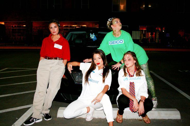 Jake From Statefarm Geico Flo From Progressive Allstate Halloween Costumes Friends Flo Progressive Halloween Party