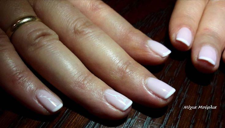 French nails~nailart~handmadenails