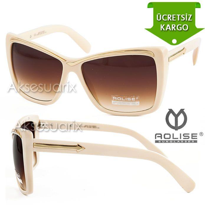 Vintage Aolise  Bayan Güneş Gözlüğü T51187 KREM http://www.aksesuarix.com/bayan-gunes-gozlugu