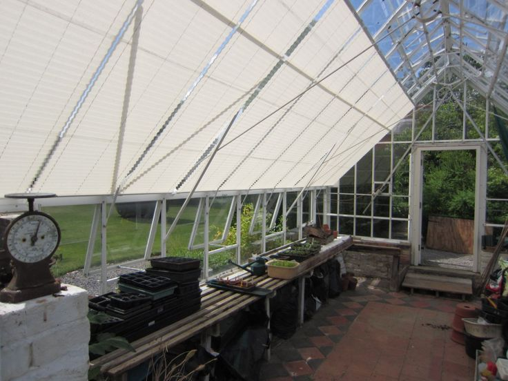 Pleated Greenhouse Blinds by Grand Design Blinds