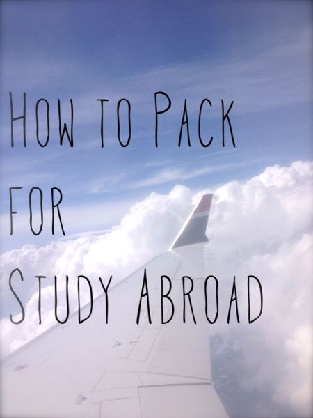 How to Pack for Study Abroad