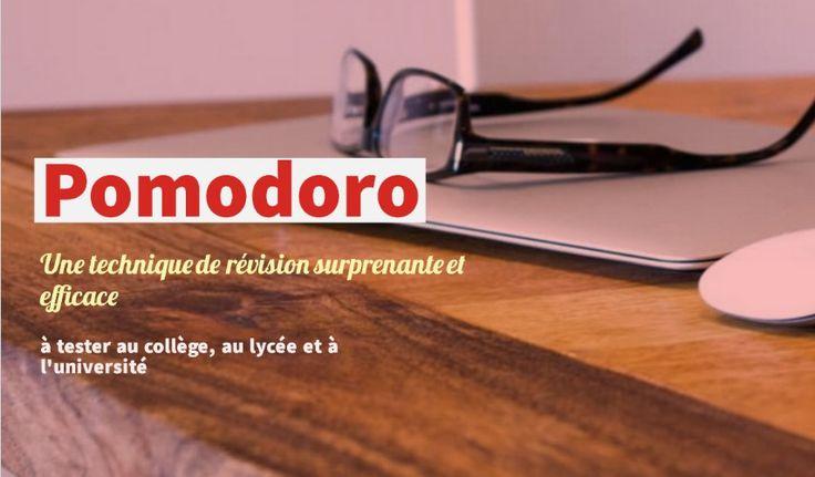 Pomodoro : une technique de révision surprenante et efficace à découvrir. Pour réviser ses cours au collège, au lycée et à l'université