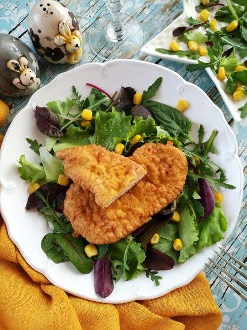 Tojáskrémbundás csirkemell recept