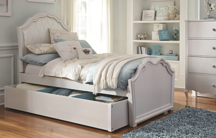 Tiffany Panel Bed with Storage
