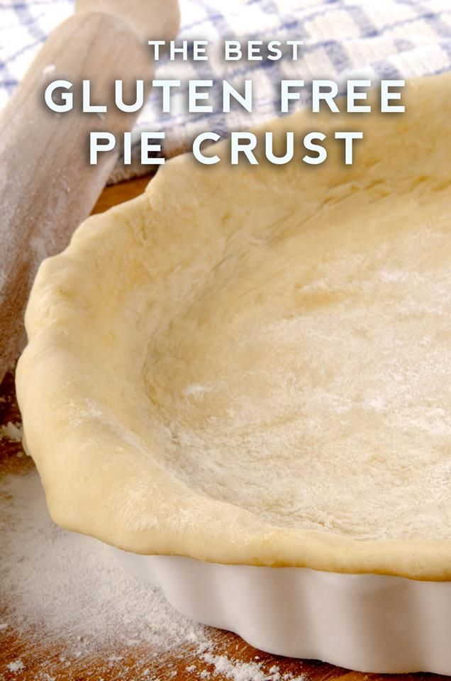 Gluten-free pie crust! Buttery and flaky, just like the real thing. Perfect for Thanksgiving guests with...