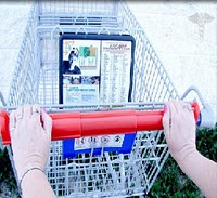 personal shopping cart handle cover???  I NEED THIS.