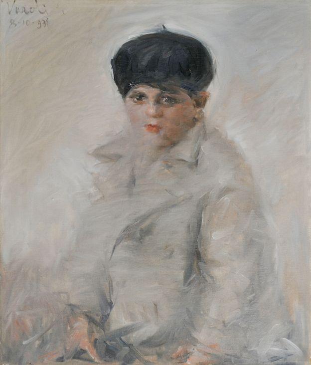 Luigi Varoli / Ritratto di Angelo Bendandi / 1931 / olio su tela, cm 70x60 (Ravenna collezione privata)