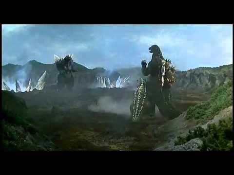 Godzilla vs SpaceGodzilla First Fight - YouTube