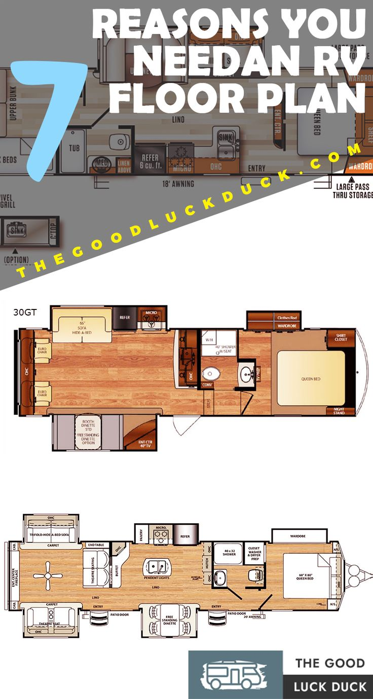 RV Floor Plans Ideas ( How to Choose The Best One) The