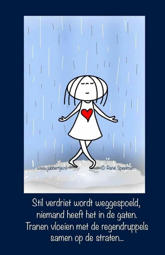 stil verdriet #Jabbertje