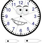 A jigsaw that can be used to reinforce knowledge about analogue clocks as well as how to represent time with minute and hour hands (requires split pins)