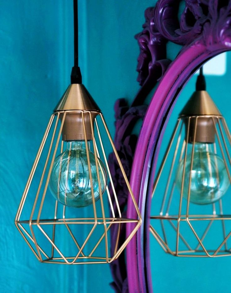 industrial style lamp
