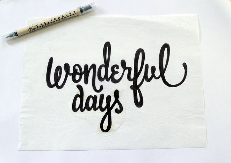 ... lettering on Pinterest | Fonts, Typography and Modern calligraphy