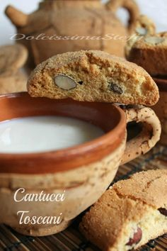 CANTUCCI~ traditional Tuscan almond biscotti.