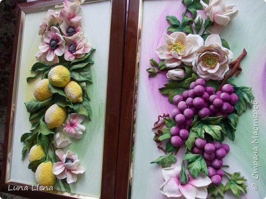 Розы и виноград фото 17