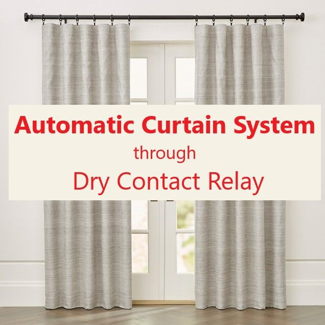 Relay Integration Curtains Relay Home Automation