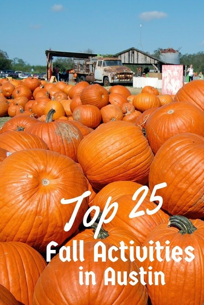 Top 25 Things to do this Fall in Austin