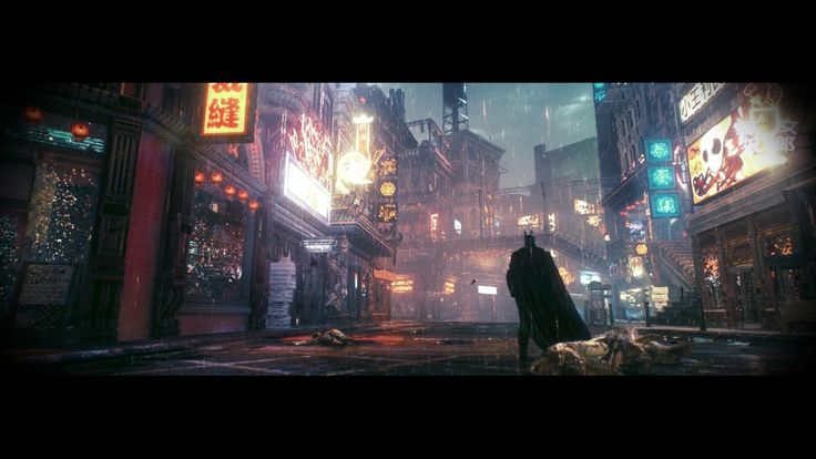 Batman: Arkham Knight is pretty