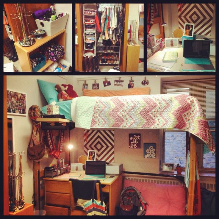 Decorating Ideas > 17 Best Images About Guy Dorms On Pinterest  Closet  ~ 202554_Real Dorm Room Ideas