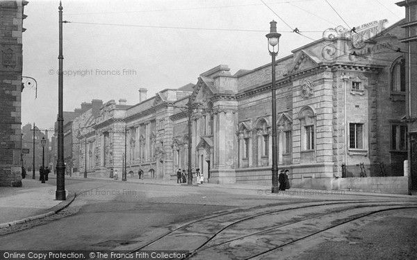 Plymouth, Museum And Free Library c.1910, from Francis Frith