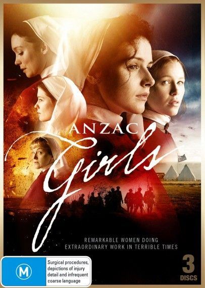 Anzac Girls DVD front cover Anzac Girls: Georgia Flood	... Alice Ross-King (6 episodes, 2014) Antonia Prebble	...	Hilda Steele (6 episodes, 2014) Laura Brent	... Elsie Cook (6 episodes, 2014) Anna McGahan	...	Olive Haynes (6 episodes, 2014) Caroline Craig	... Grace Wilson (6 episodes, 2014) Honey Debelle	...	Sister Catherine 'Kit' McNaughton (6 episodes, 2014)