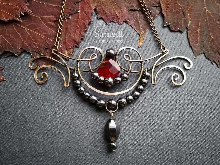 "Pendant ""The Dark Muse"" | by Strangell"