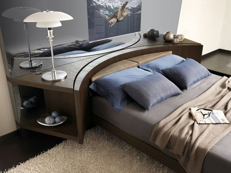 For those who like comfort, without any renunciation. equipped revolving bed with electric drive available in solutions with electric or manual movement. #fimes #bed #rotatingbed #hightechbed