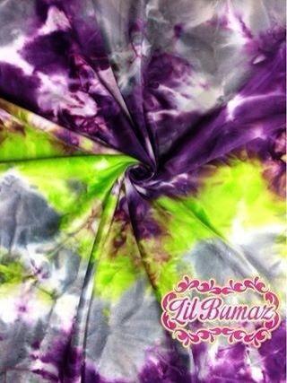 Amethyst Anarchy tie dye Minky - Minkyliscious 150cm wide $5.00/50x50cm, $12.00/0.5m, $29.00/m