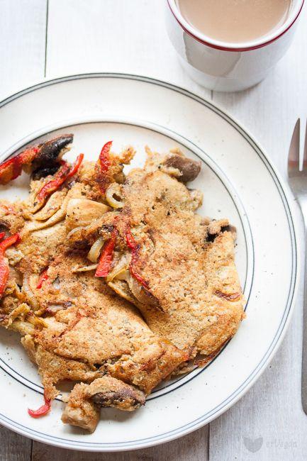 Wegański omlet – gotowy mix z ciecierzycy