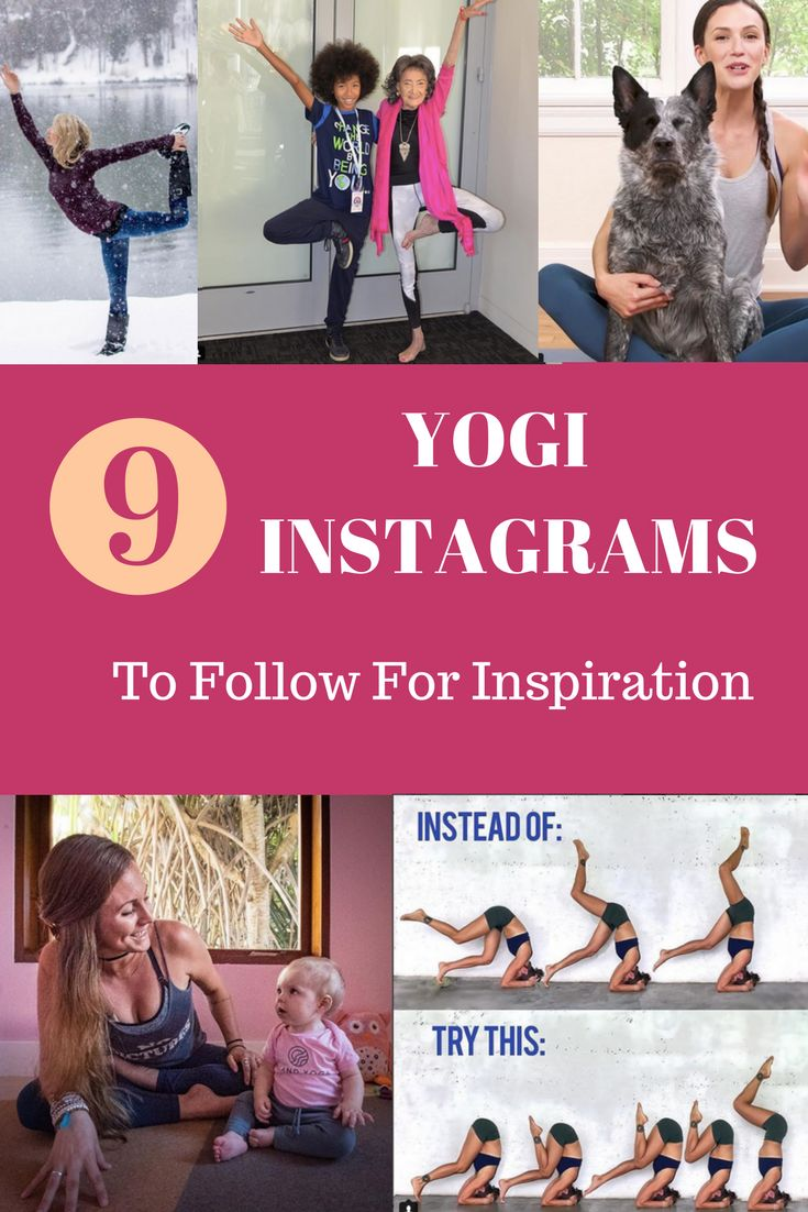 Follow these yoga and yogi accounts on Instagram to get inspiration for your own yoga practice! Learn about the yogi lifstyle, style, tea, poses, inspiration, quotes, and diet.