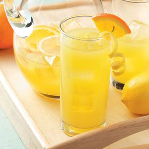 "Orange Lemonade Recipe...This sounds yummy.  When reading the reviews, beware of the ""sugar Nazi's"" that always want to spoil your enjoyment!   Sheesh, I get sick of that!"