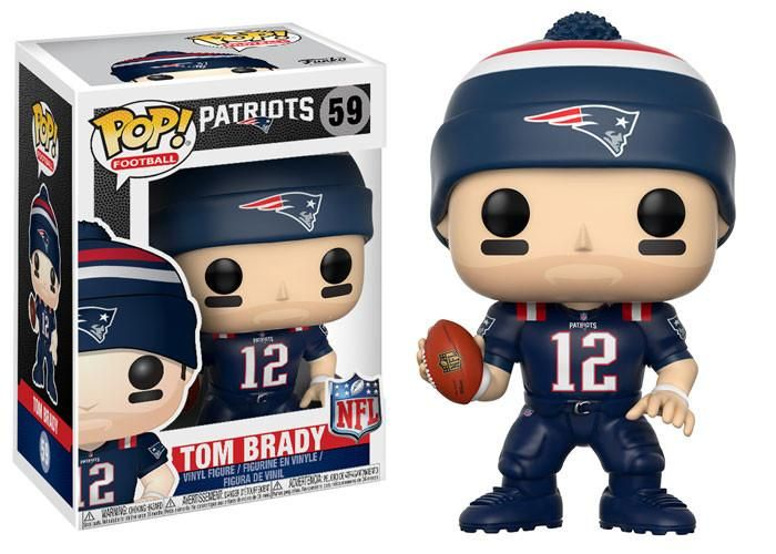 POP! NFL # 59: New England Patriots: TOM BRADY (Color Rush)