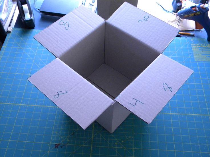 How to Create a Custom Cardboard Box