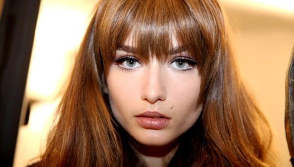Get look of these edgy bangs with the Clip-In Bang by hairdo! Available at @ultabeauty stores.