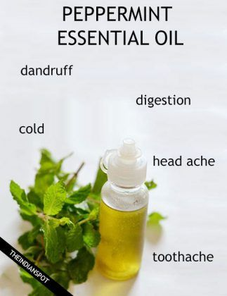 PEPPERMINT ESSENTIAL OIL - Benefits, Uses & Remedies