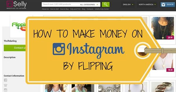 How To Make Money On Instagram By Flipping