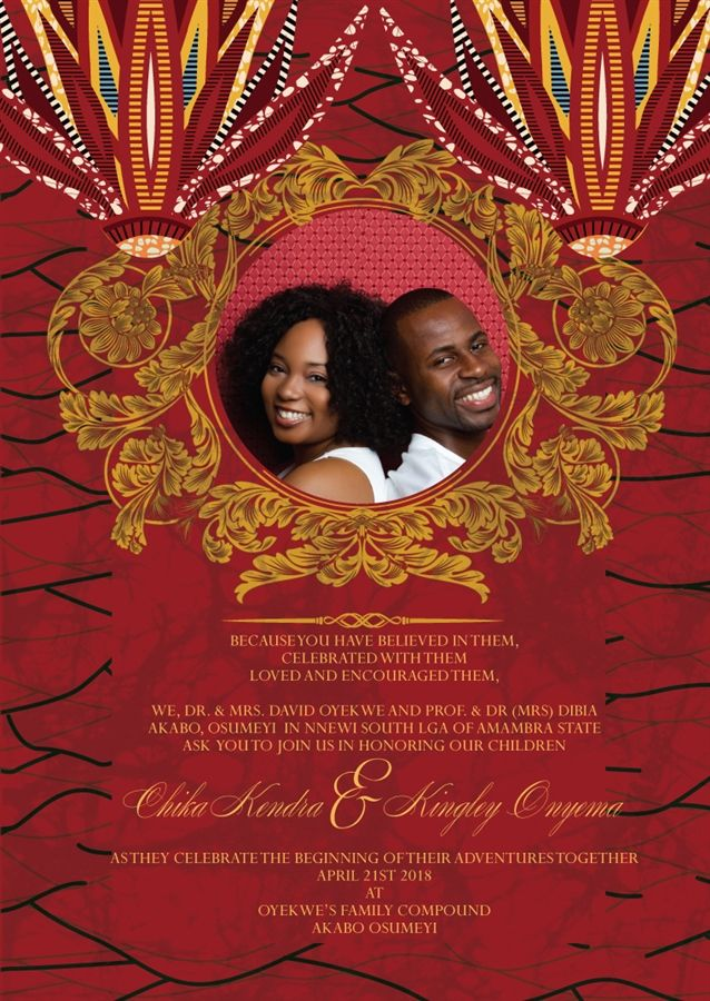 17 Best images about Nigeria Igbo Traditional Wedding on – Traditional Wedding Invitation Card