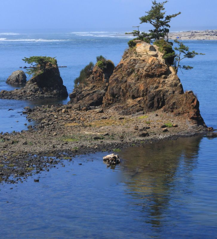 Siletz Bay, Near Lincoln City, Oregon