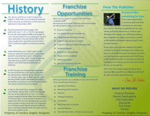 Click to read our flier with all the info you need to start your own Golf Times! Franchise Info - Myrtle Beach Golf Magazine | Golf Times
