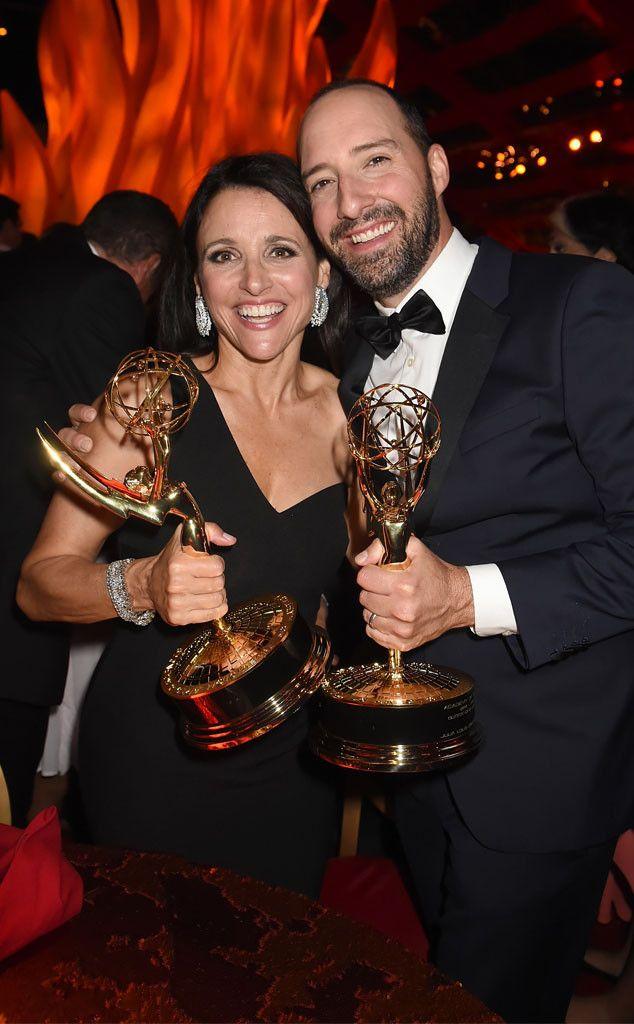 Julia Louis-Dreyfus & Tony Hale from 2015 Emmys: Party Pics   E! Online