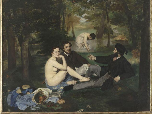 """Édouard Manet, d'après A. Proust: """"Il paraît qu'il faut que je fasse un nu. Eh bien je vais leur en faire, un nu !"""" (Édouard Manet, 1863, Paris, musée d'Orsay.)https://bibliobs.nouvelobs.com/documents/20180112.OBS0565/pourquoi-les-tableaux-celebres-sont-ils-celebres.html"""