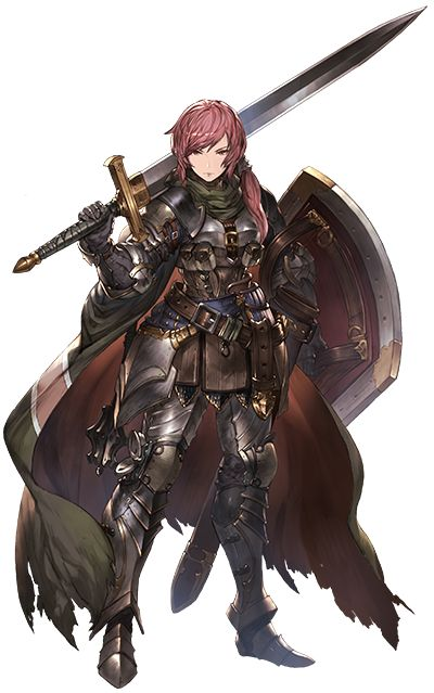 Woman wearing armor that looks ... like armor and not a bathing suit pretending to be armor. Much to like.