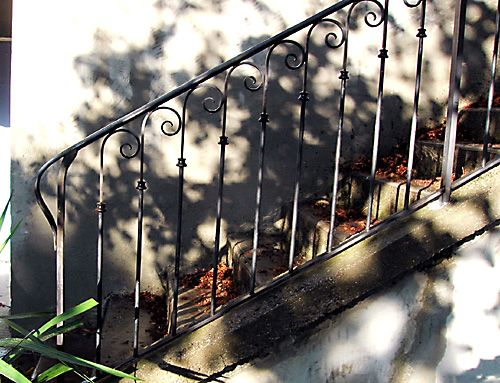 70 best images about escalier on pinterest wrought iron stair railing iron staircase and iron. Black Bedroom Furniture Sets. Home Design Ideas