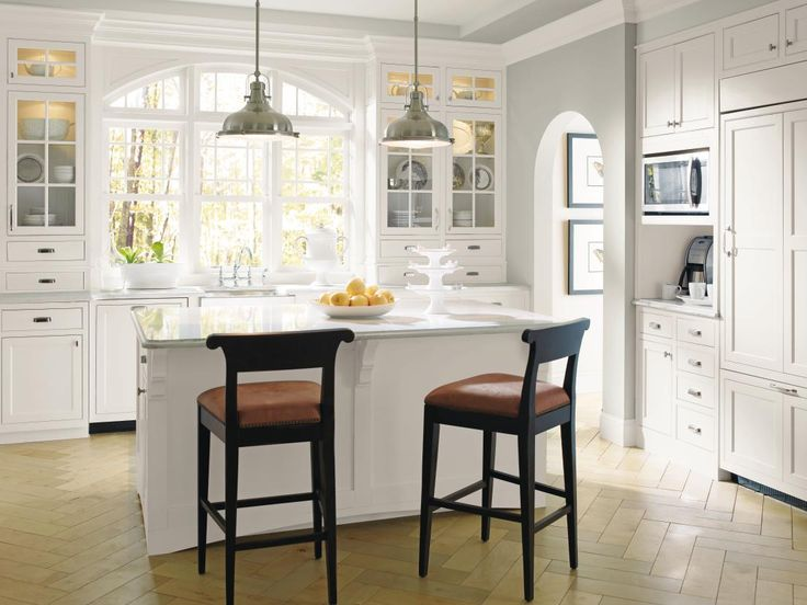 decora cabinetry prescott beaded inset maple white traditional kitchen masterbrand cabinets inc