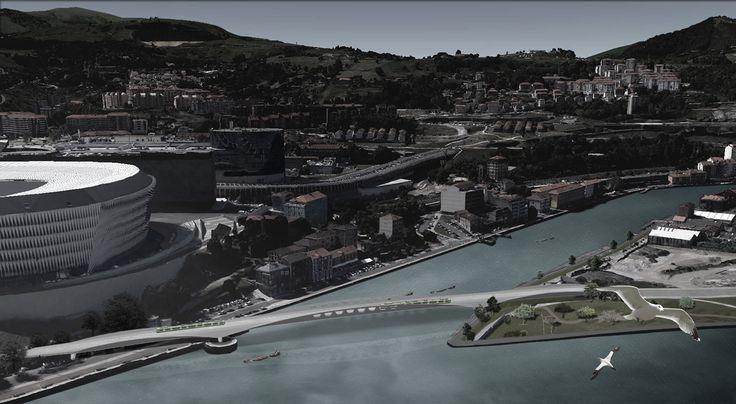Multicontentio Bridge in Bilbao by ANTA